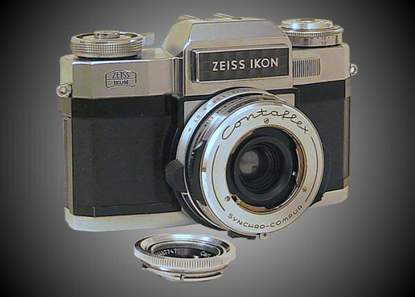 Contaflex Super B - Lens Off